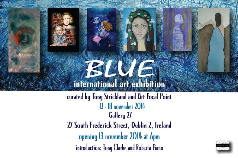 BLUE exhibition 1