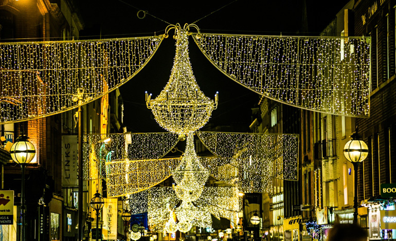 Grafton St Christmas Lights Ceremony 2017 Dublin At