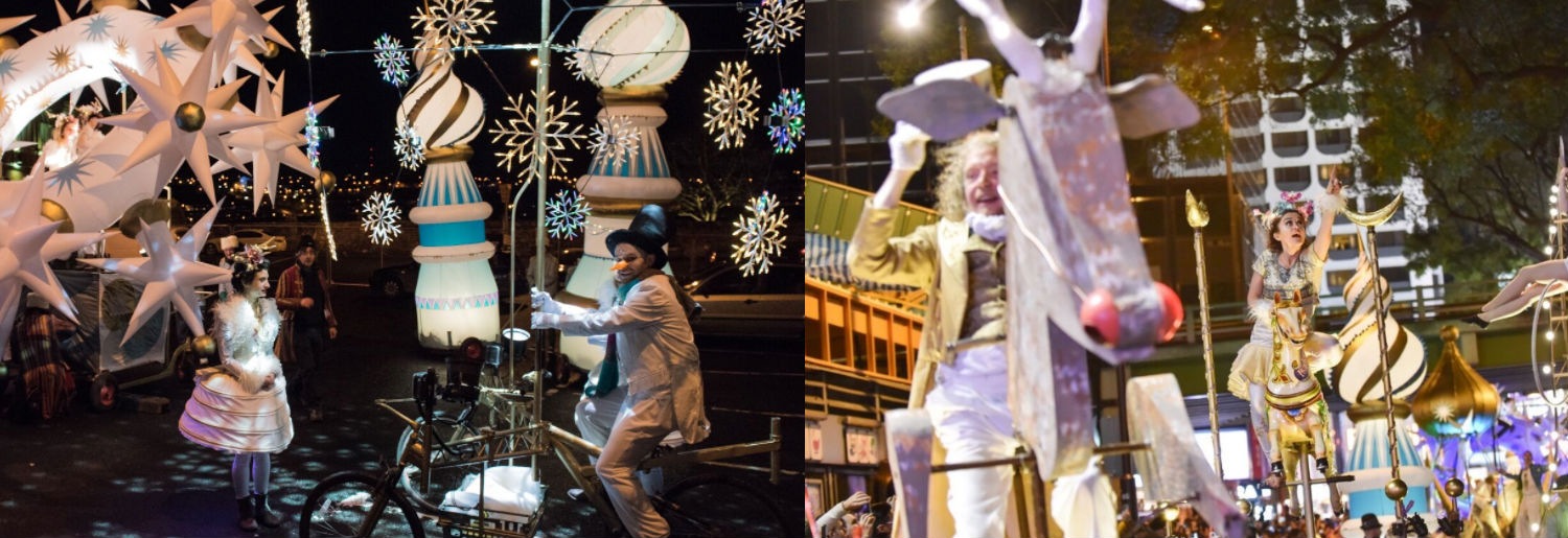 Dublin at Christmas Procession Map and Guide 2017