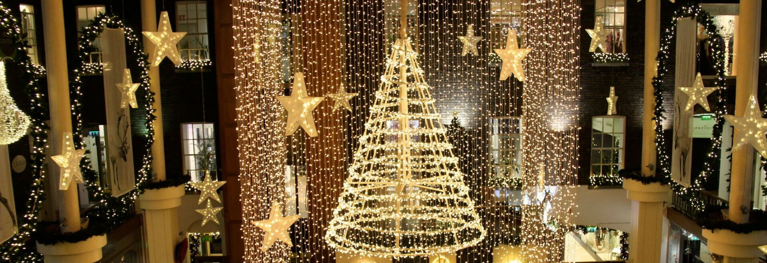 Powerscourt Centre Switch On their Christmas Lights November 15