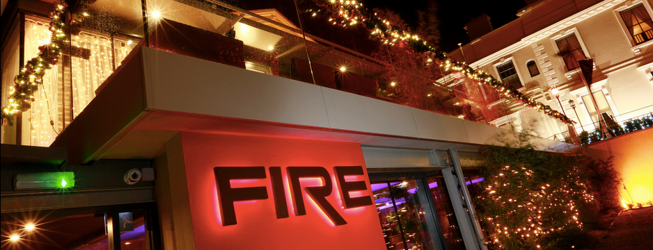 Christmas Menu 2018 at FIRE Restaurant and Lounge