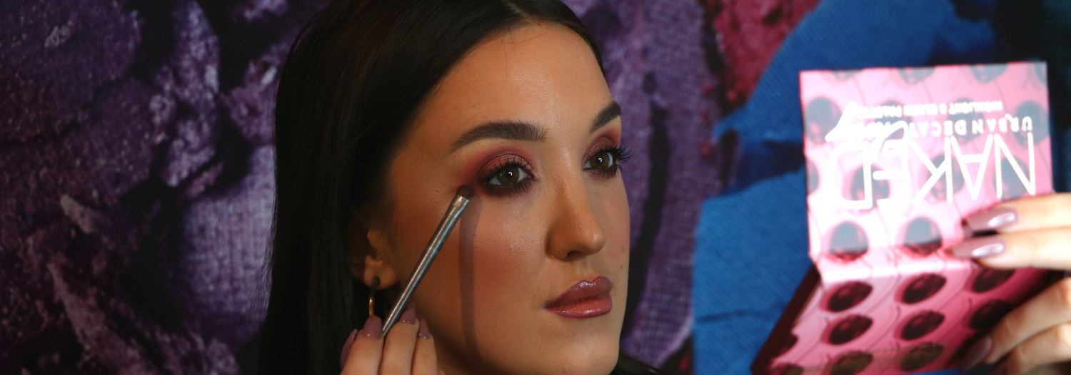 Urban Decay Naked Cherry Christmas Look from Urban Decay Grafton Street Boutique
